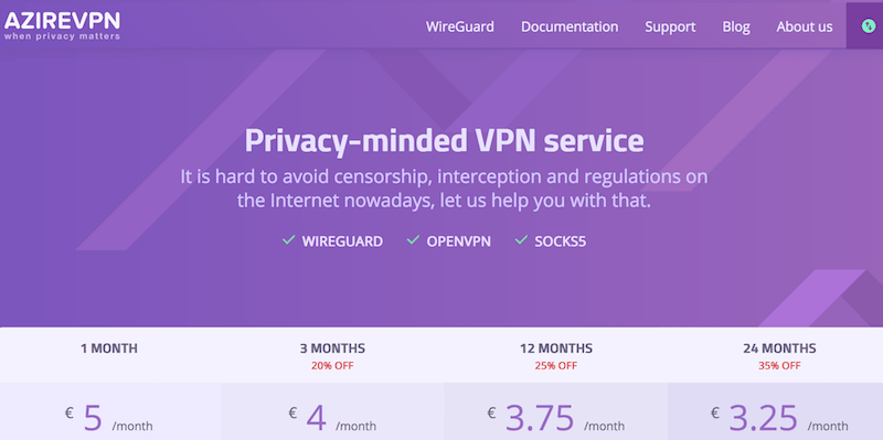 secure vpn with wireguard