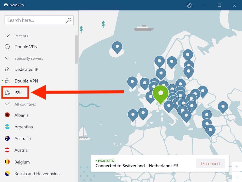 NordVPN torrenting vs ipvanish