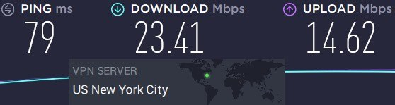 Private Internet Access slow speeds