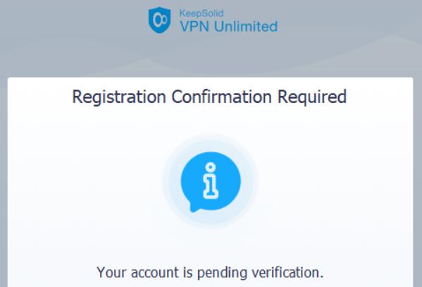 VPN unlimited registration