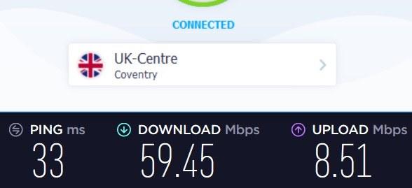 VPN unlimited review speeds