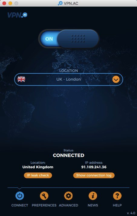 VPNac for mac os