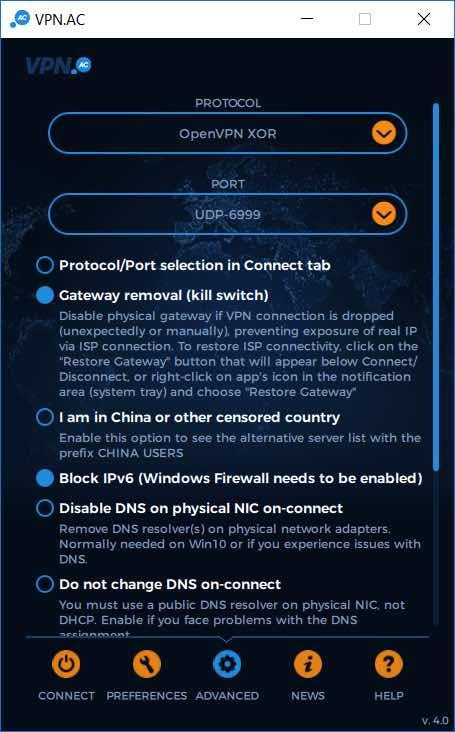 VPNac for windows review