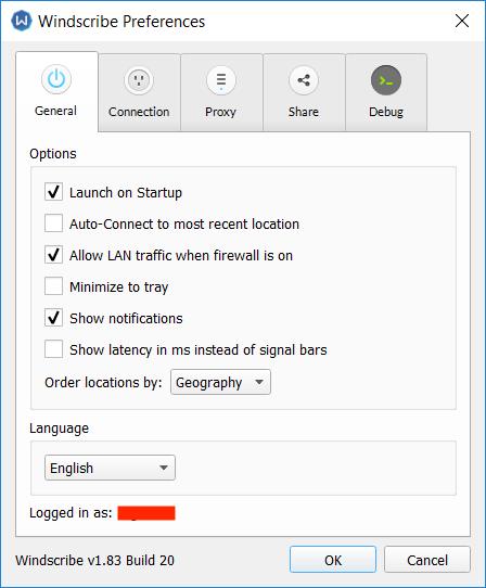 Windscribe VPN features