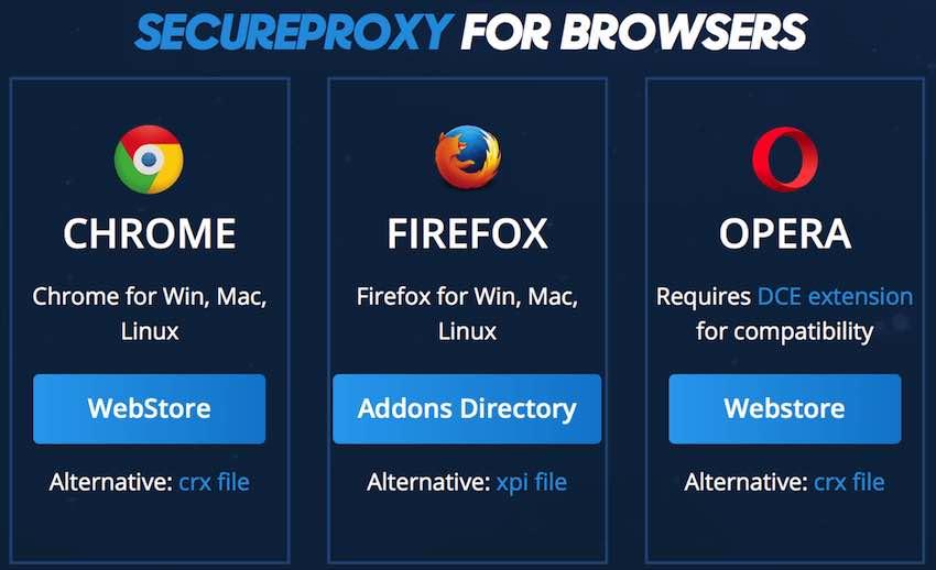 vpnac secure browser extension
