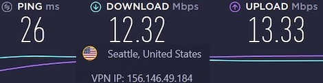 CyberGhost vs ExpressVPN speeds