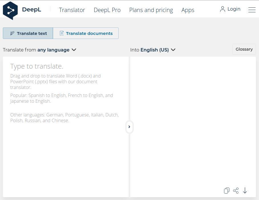 Google Translate alternative