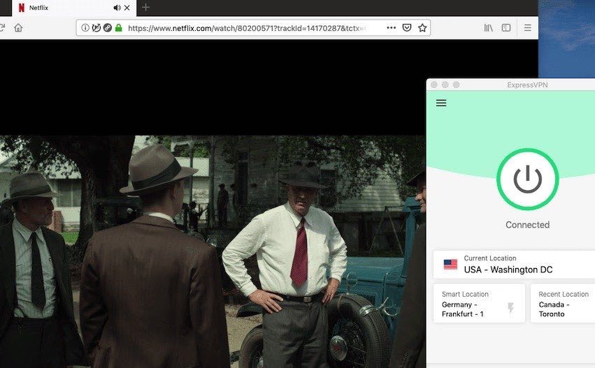 IPVanish vs ExpressVPN Netflix streaming