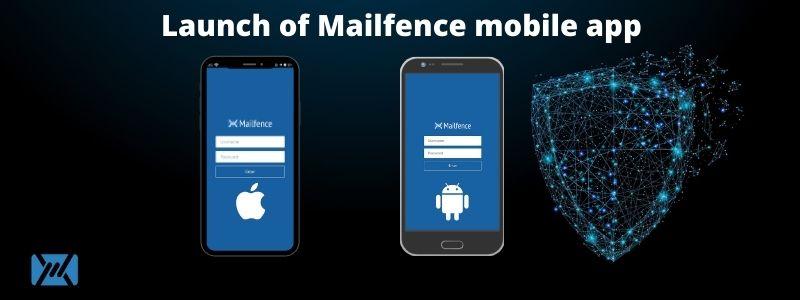 Mailfence mobile app