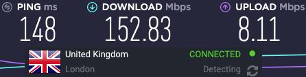 Nord VPN speeds UK vs TorGuard