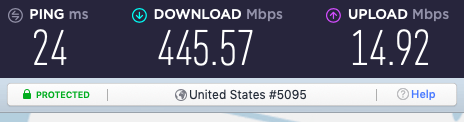 NordVPN WireGuard speeds vs Surfshark