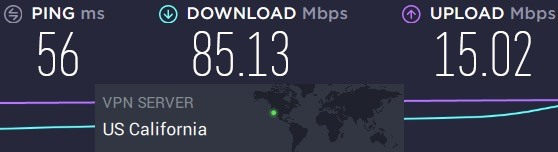 PIA vs PureVPN server speeds