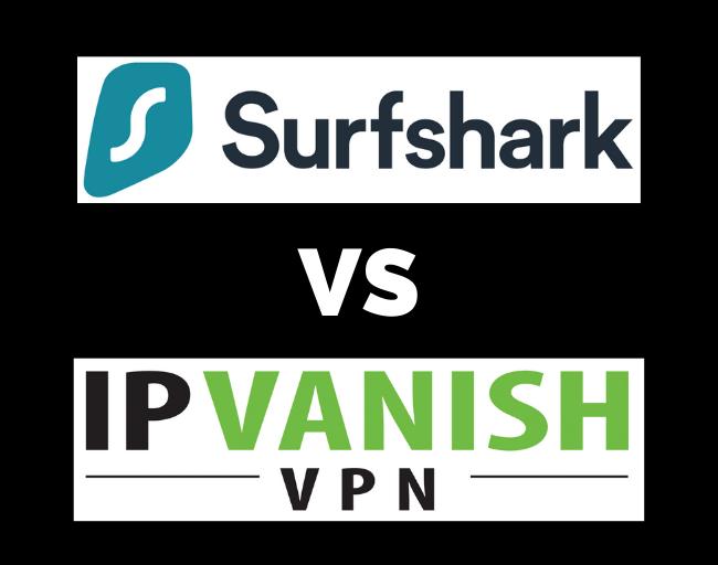 Surfshark vs IPVanish