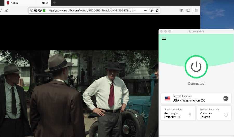 ExpressVPN vs PIA Netflix streaming