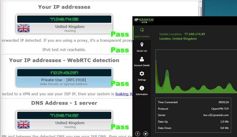 ipvanish security tests vs surfshark