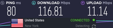 TorGuard compared to Nord VPN speeds
