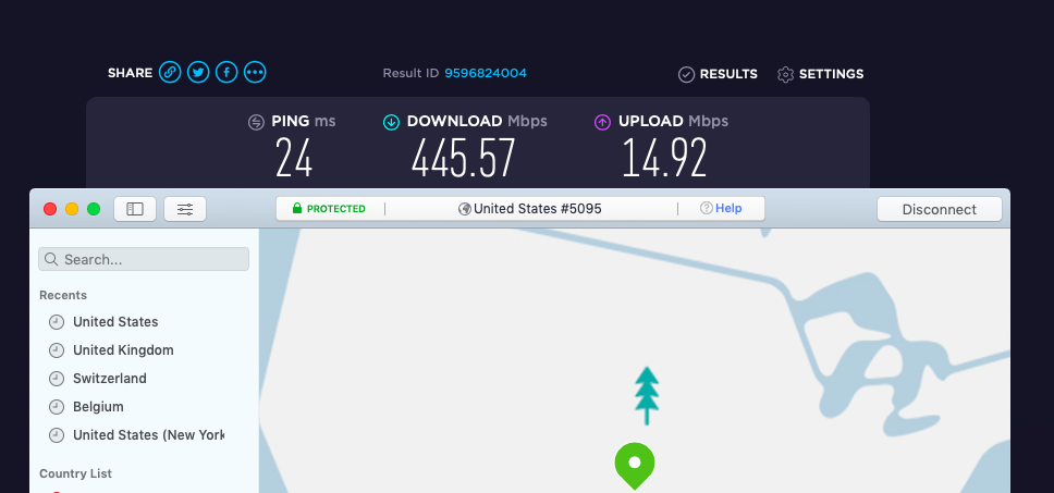 VPN with fastest speeds for Mac
