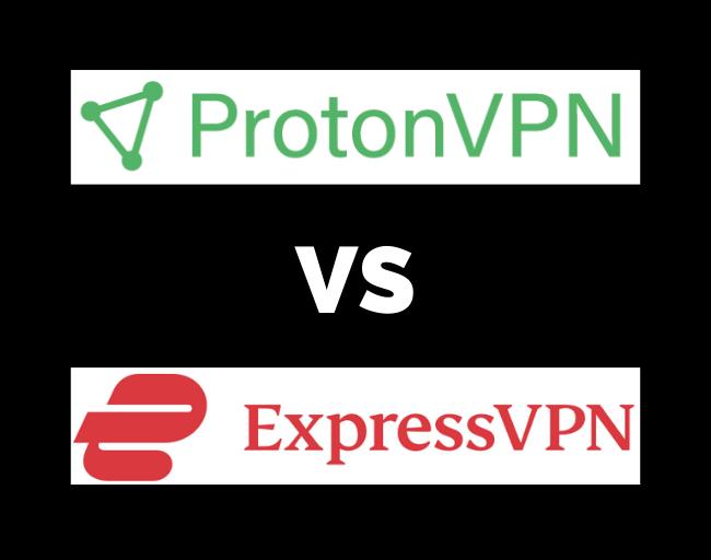 ExpressVPN vs ProtonVPN