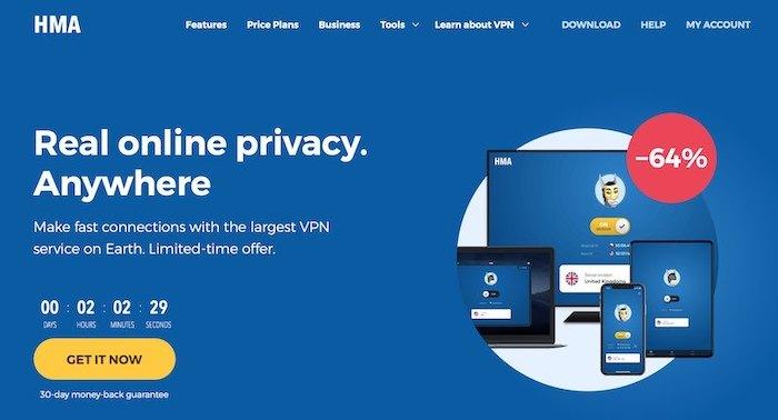 HideMyAss HMA VPN