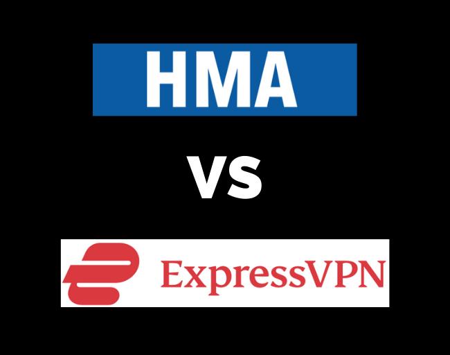 HideMyAss HMA vs ExpressVPN