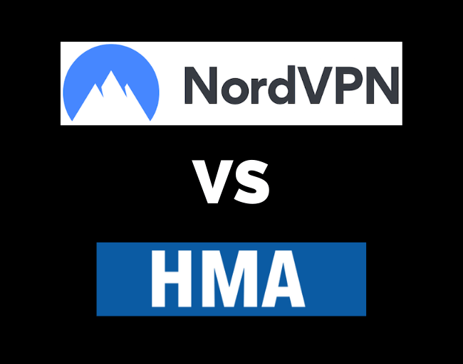 NordVPN vs HideMyAss HMA VPN