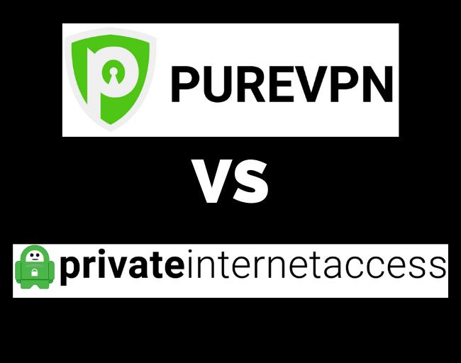 PureVPN vs PIA