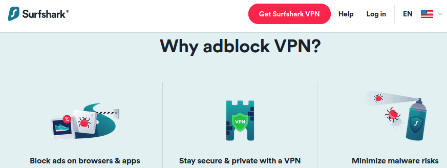 VPN with ad blocking