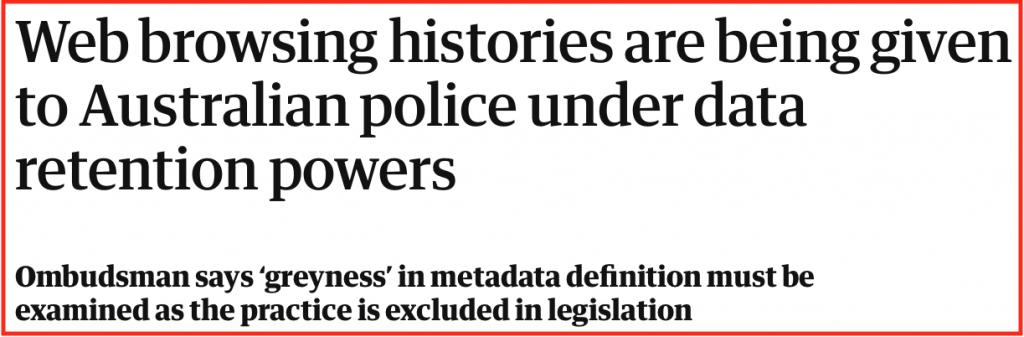 australia privacy laws data retention