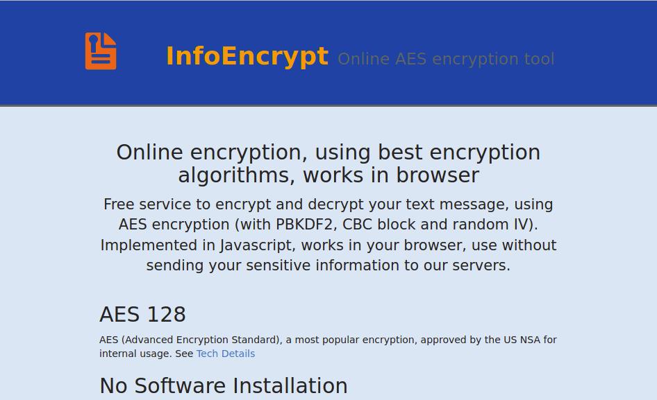 infoencrypt email encryption