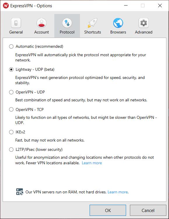 ExpressVPN encryption vs IPVanish