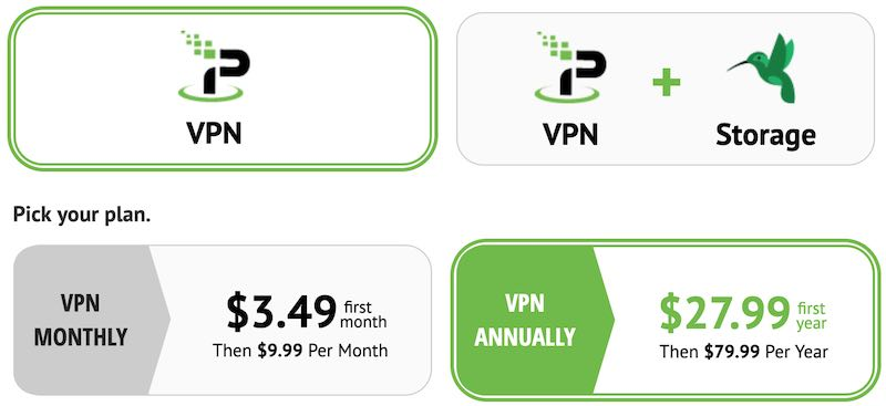 IPVanish price vs NordVPN