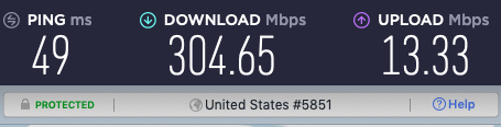 NordVPN and PIA speed test 2021