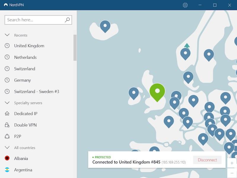 VPN app for UK