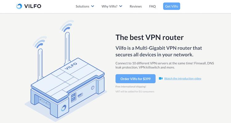 Vilfo VPN router review