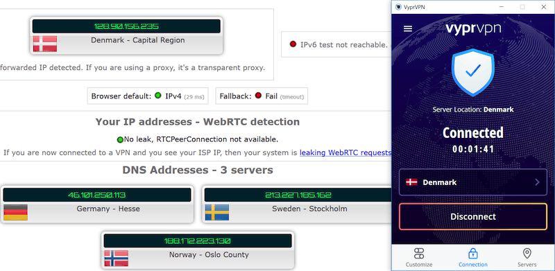 VyprVPN Windows features vs NordVPN