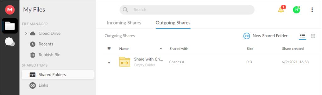 mega file sharing
