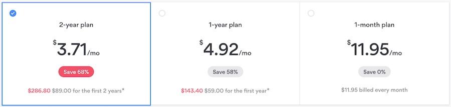 nordvpn coupon prices