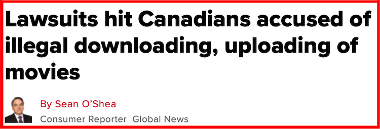 torrenting in Canada with VPN