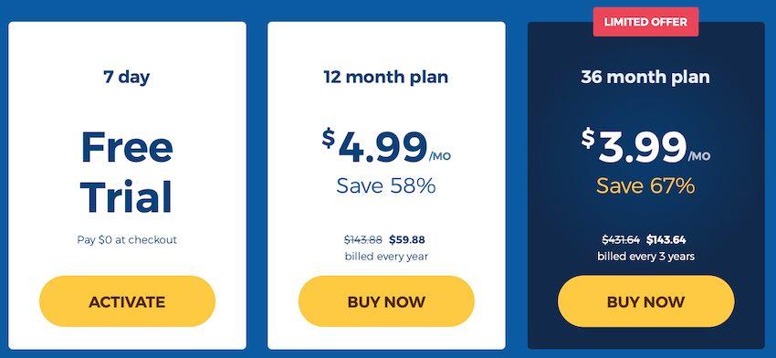 HideMyAss VPN HMA price