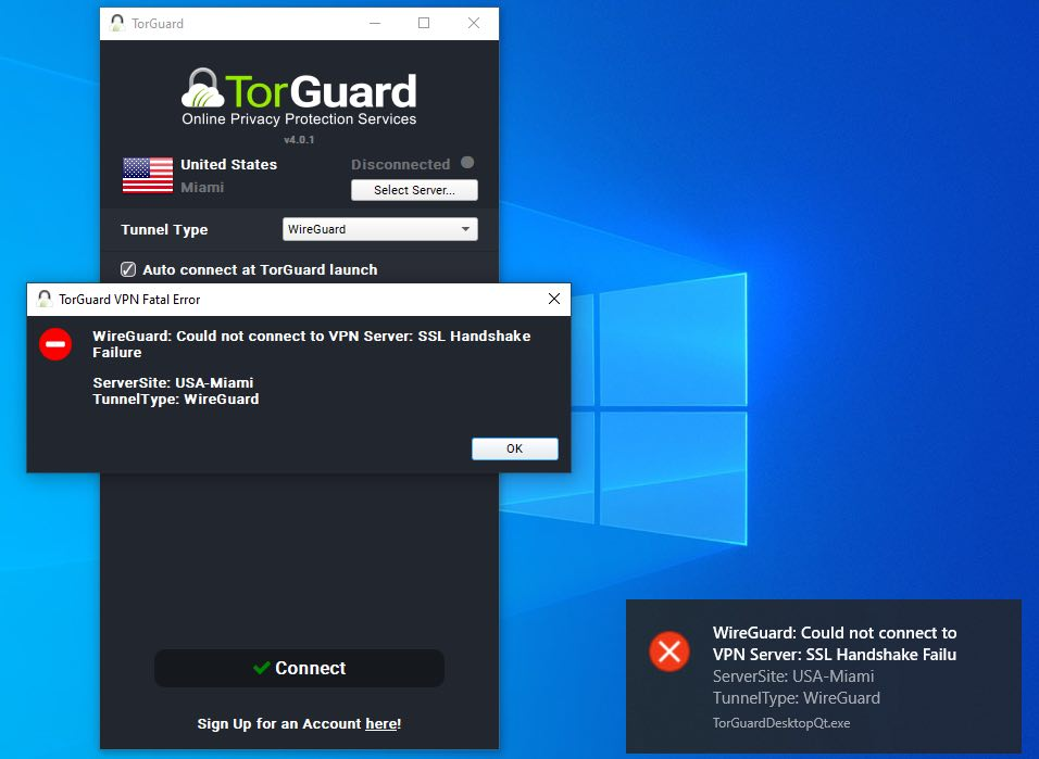 TorGuard with WireGuard