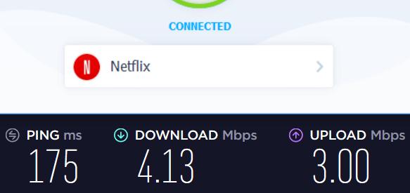 VPN Unlimited Netflix speed