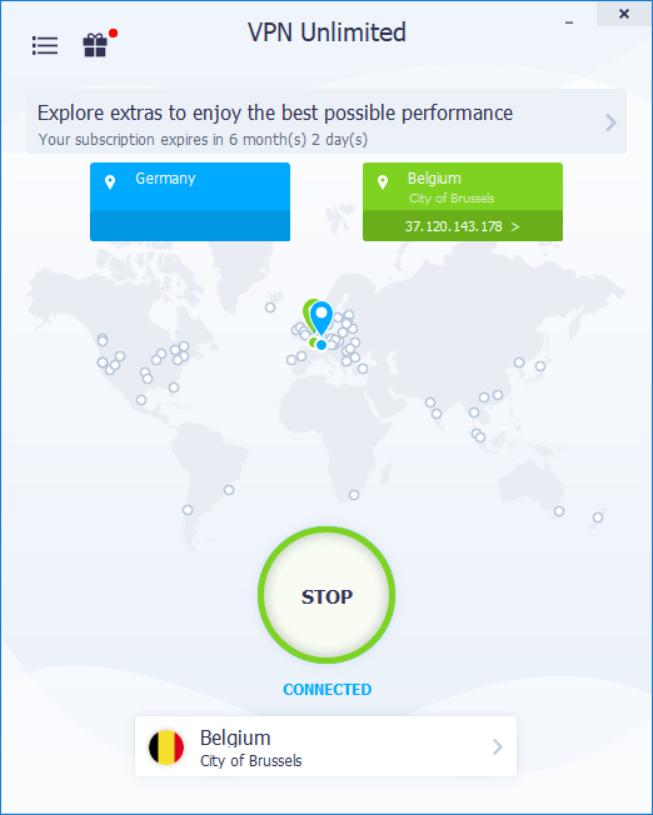 VPN Unlimited Windows app
