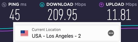 fast gaming VPN speeds