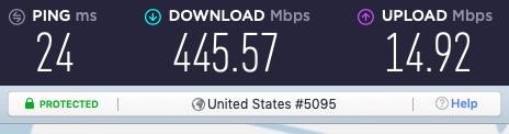 purevpn server speeds