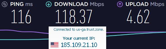 trustzone server test