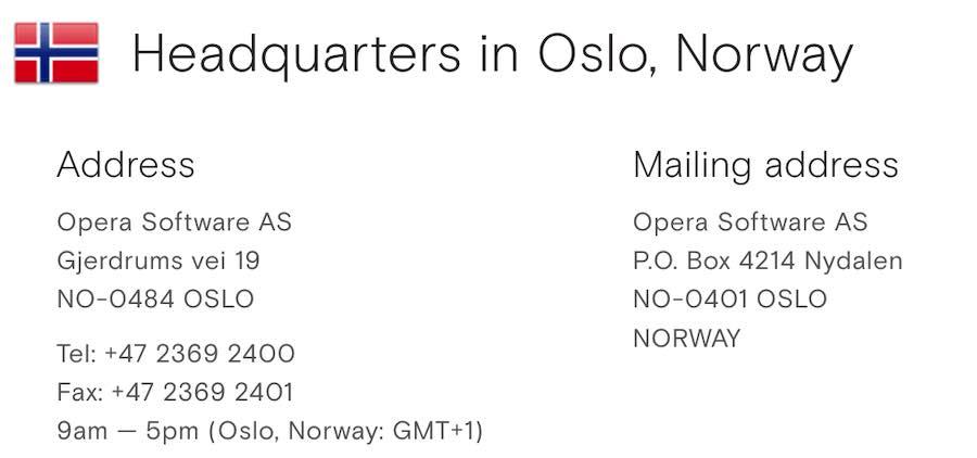 who owns opera VPN