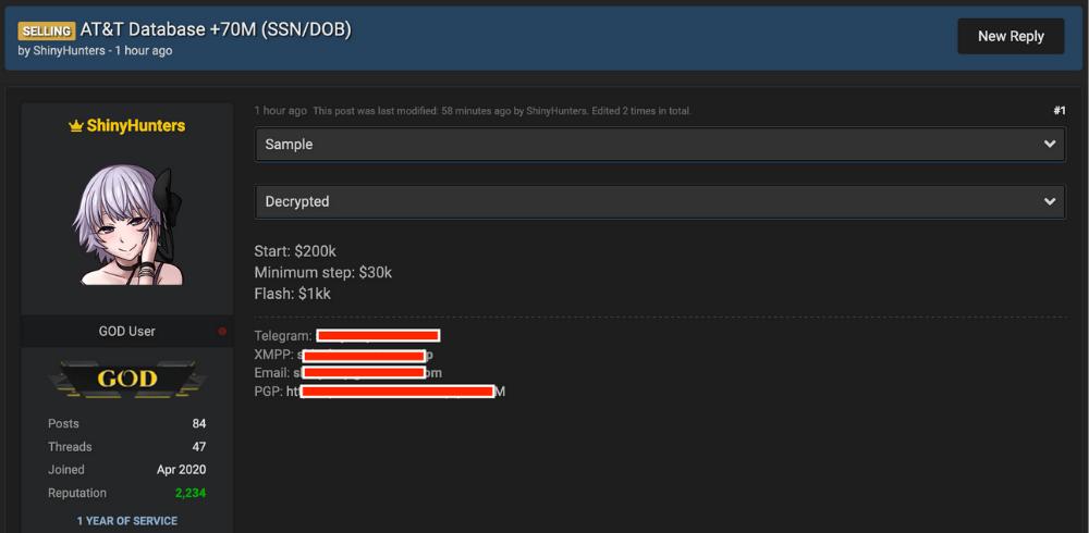 AT&T Data Breach
