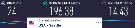ExpressVPN speeds review
