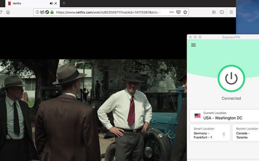 ExpressVPN works with Netflix