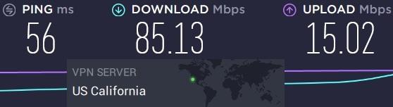 PIA server speeds vs ExpressVPN